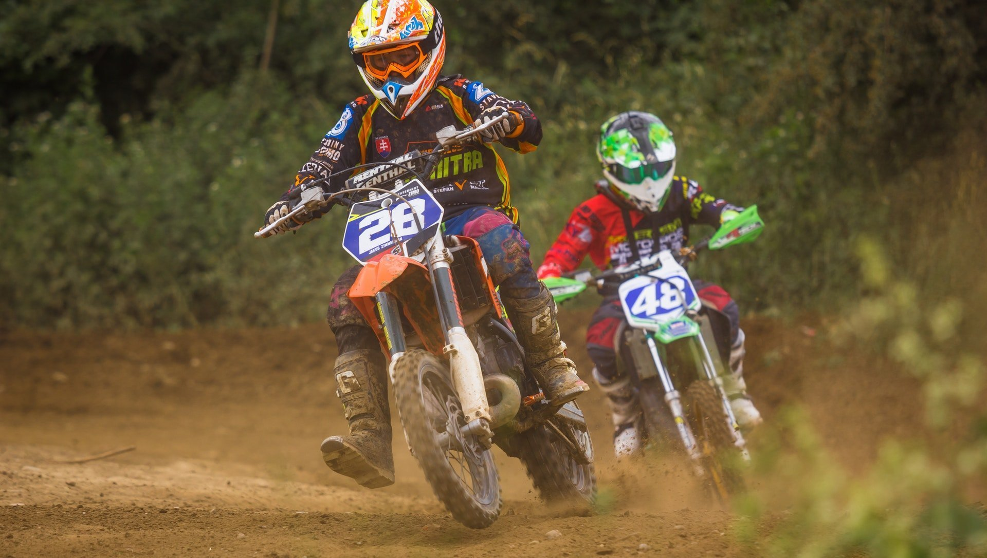dirt bike protection gear