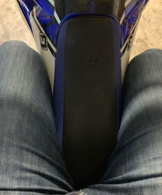 how to ride a ride bike incorrect seating position