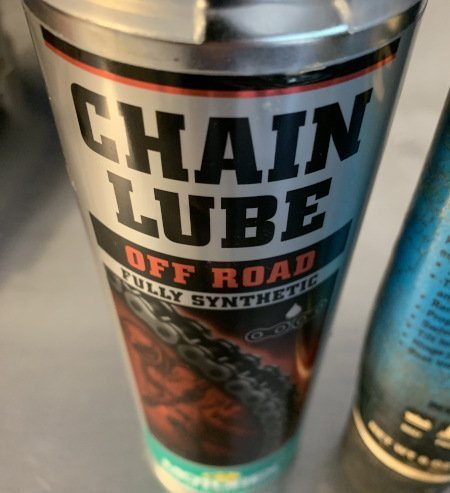 dirt bike maintenance chain lube
