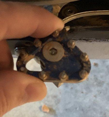 brake pedal rotating tip